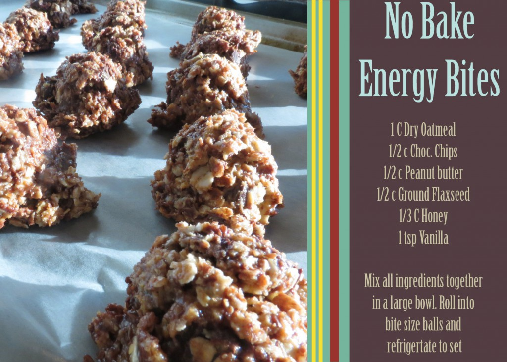 Granola Bites-They Taste Like Cookie Dough!