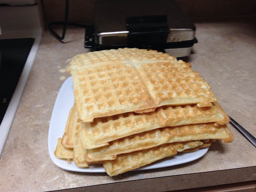 Large Batch Waffles